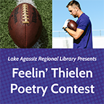 Feelin' Thielen Poetry Contest book cover.
