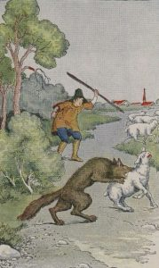 From The Æsop for Children, by Æsop, illustrated by Milo Winter