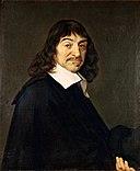 portrait of Rene Descartes after Frans Hals [Public domain], via Wikimedia Commons