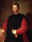 Portrait of Niccolò Machiavelli Santi di Tito [Public domain], via Wikimedia Commons