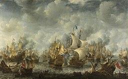 Battle of Scheveningen Jan Abrahamsz Beerstraaten [Public domain], via Wikimedia Commons