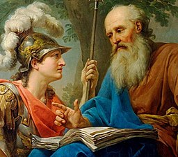 Marcello Bacciarelli - Alcibiades Being Taught by Socrates