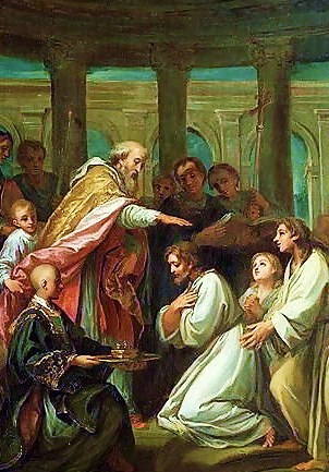 baptism of st augustine 1702 words of wisdom intro to philosophy