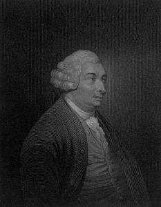 An engraving of Scottish philosopher David Hume from The History of Great Britain.