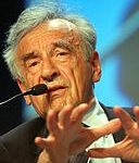 Elie Wiesel, By World Economic Forum from Cologny, Switzerland (World Economic Forum Annual Meeting Davos 2003) [CC BY-SA 2.0 (https://creativecommons.org/licenses/by-sa/2.0)], via Wikimedia Commons