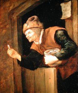The Miser, by Jan Steen [Public domain], via Wikimedia Commons