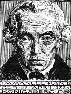 Immanuel Kant by Heinrich Wolff [Public domain], via Wikimedia Commons