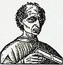 Mchiavelli Caricature, Charicature of Niccolò Machiavelli from the cover page of the first publication of The Prince