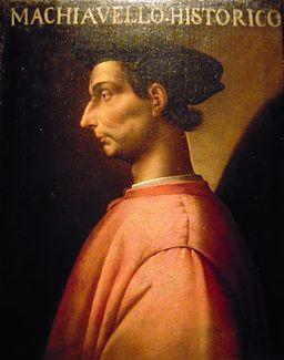 Antonio Maria Crespi Castoldi Title Portrait of Niccolò Machiavelli, Ritratto di Niccolò Machiavelli