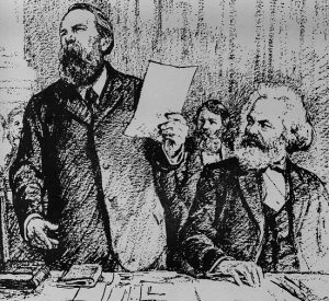 Karl Marx And Friedrich Engels Words Of Wisdom Intro To