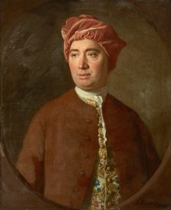 Allen Ramsey, a painting of David Hume