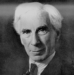 66 years old Bertrand Russell