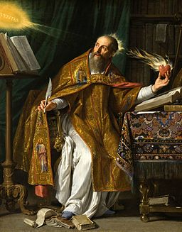 Saint Augustine by Philippe de Champaigne [Public domain], via Wikimedia Commons