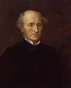 John Stuart MIll Replica of a portrait commissioned to G.F. Watts by Sir Charles Dikes.