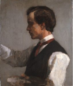 Portrait of William James Date circa 1859 by John LaFarge