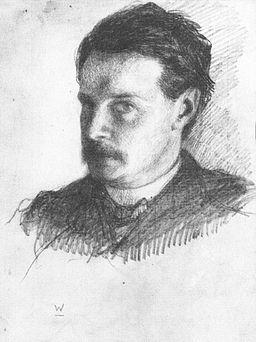 Artist William James (1842-1910) Title Self-portrait Date circa 1866 Medium drawing