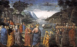 Calling of the Apostles Domenico Ghirlandaio [Public domain], via Wikimedia Commons