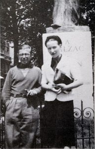 Sartre_and_de_Beauvoir_at_Balzac_Memorial