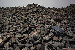 Auschwitz Shoes taken the 30th jan of 2012