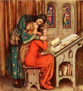 Golden book of famous women, Londres : Hodder and Stoughton, 1919 Eleanor Fortescue-Brickdale [CC0], via Wikimedia Commons