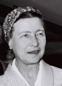 Simone de Beauvoir in1967