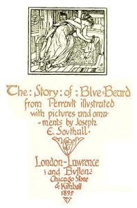 note telling of the illustrations to an edition of Bluebeard