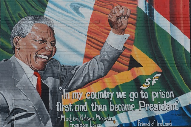 """In my country er go to prison first and then become President"" quote from Nelson Mandela"