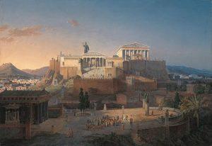 By Leo von Klenze, The Acropolis at Athens wikidata:Q19901204 Date 1846 Medium oil on canvas
