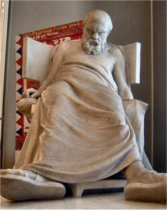 Statue, Death of Socrates