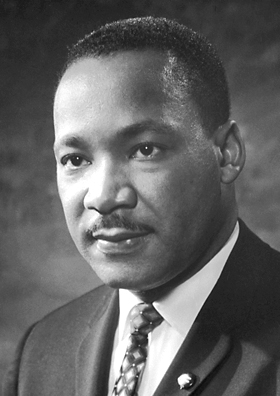 Martin Luther King Jr By Nobel Foundation (http://nobelprize.org/) [Public domain or Public domain], via Wikimedia Commons