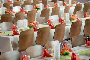 fancy chairs for banquet