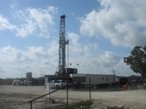 Texas Oil and Gas Well
