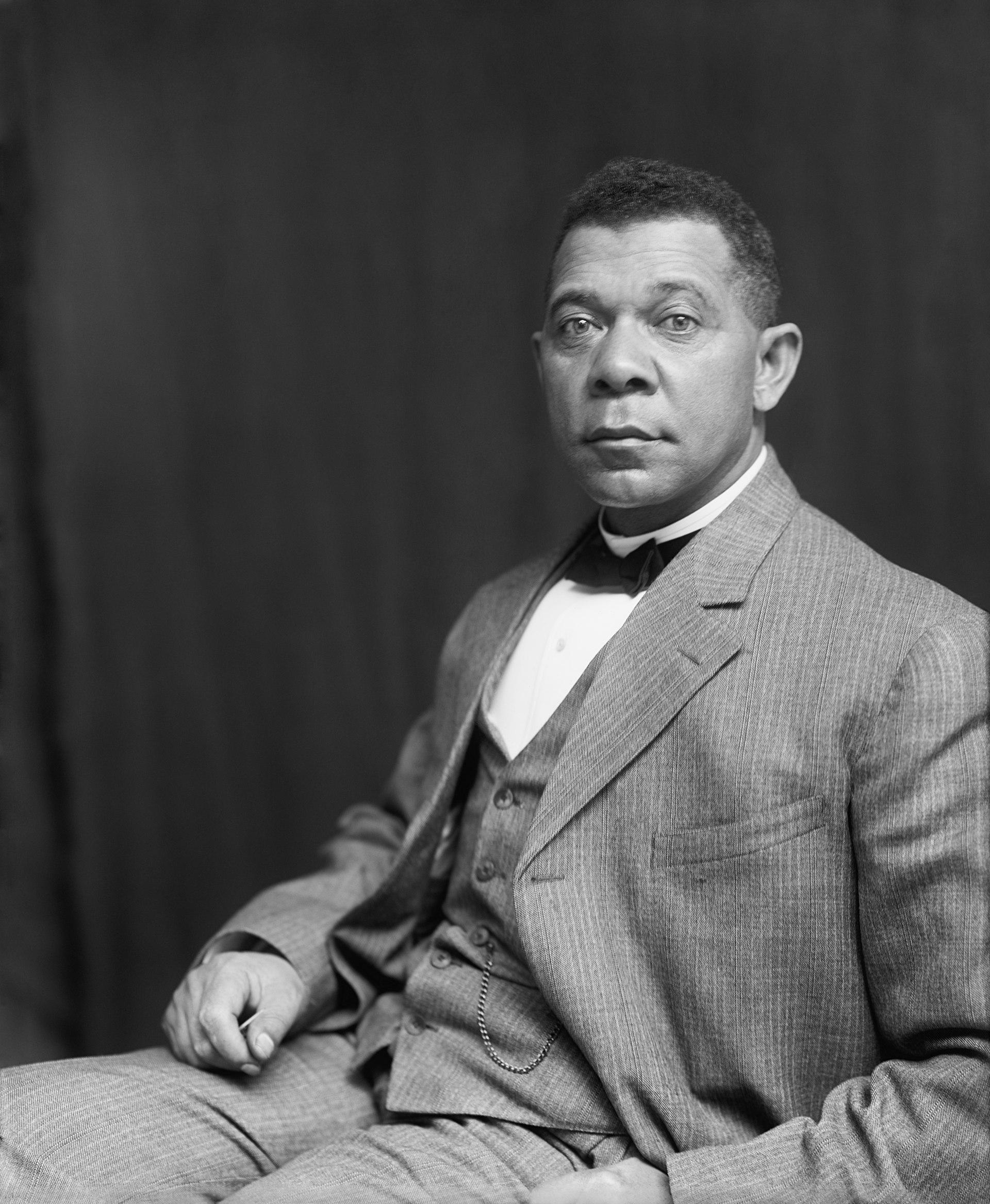 Booker T. Washington in 1895