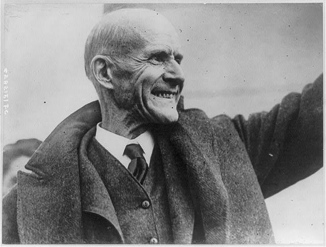 Eugene V. Debs in 1921