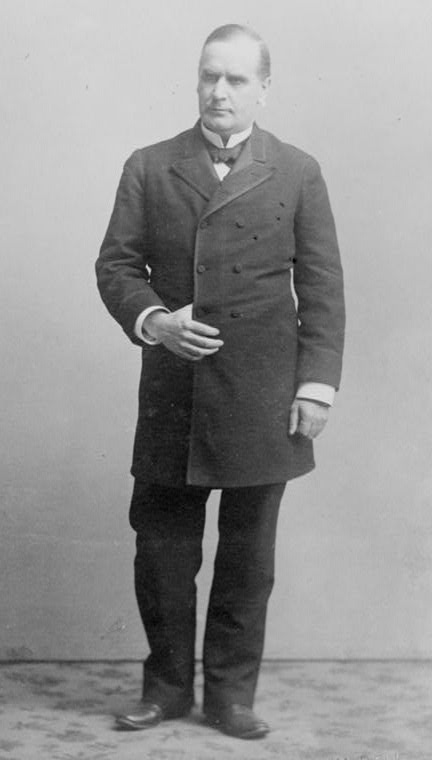 William McKinley in 1901