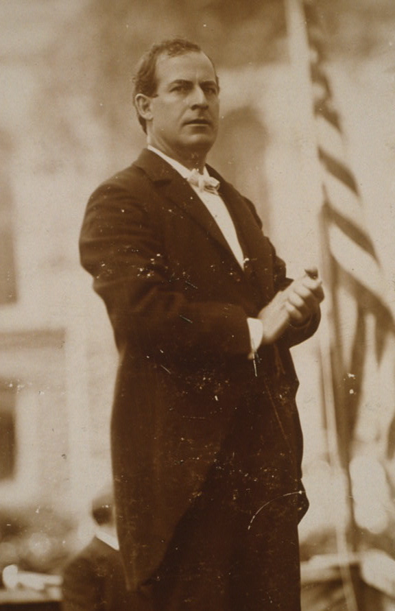 William Jennings Bryan in 1896