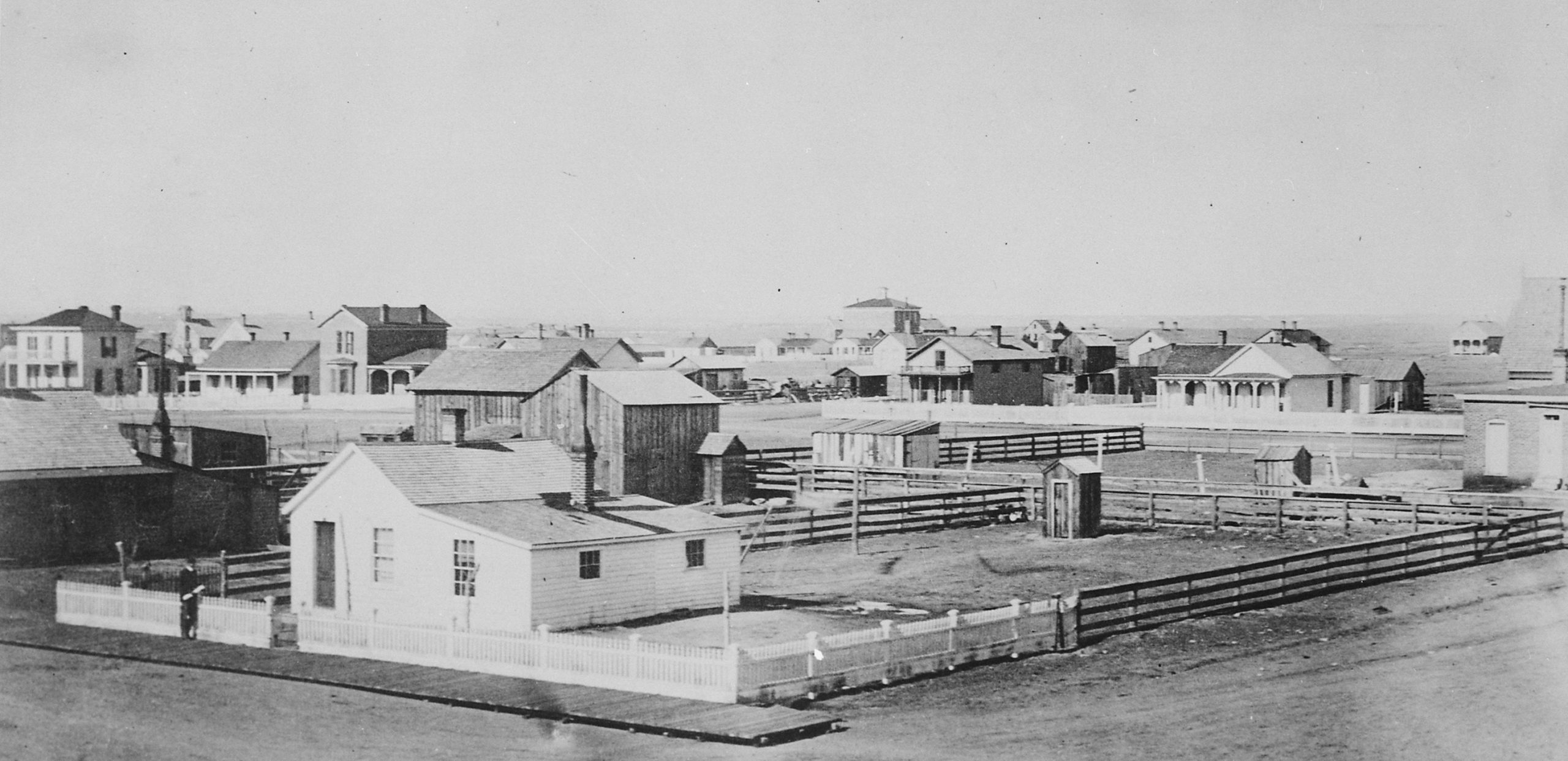 Cheyenne, Wyoming in 1876