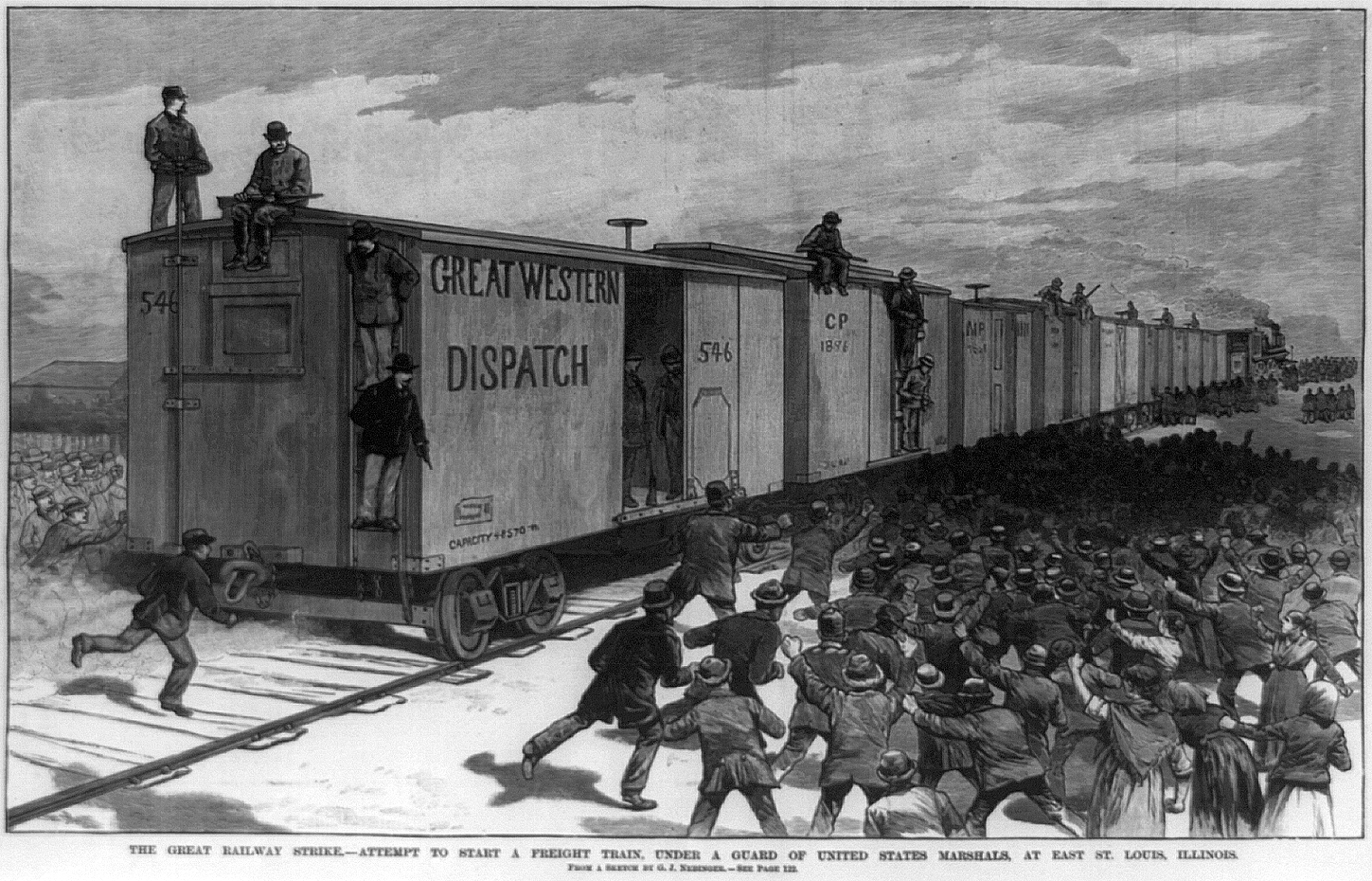 Great Southwest railroad strike