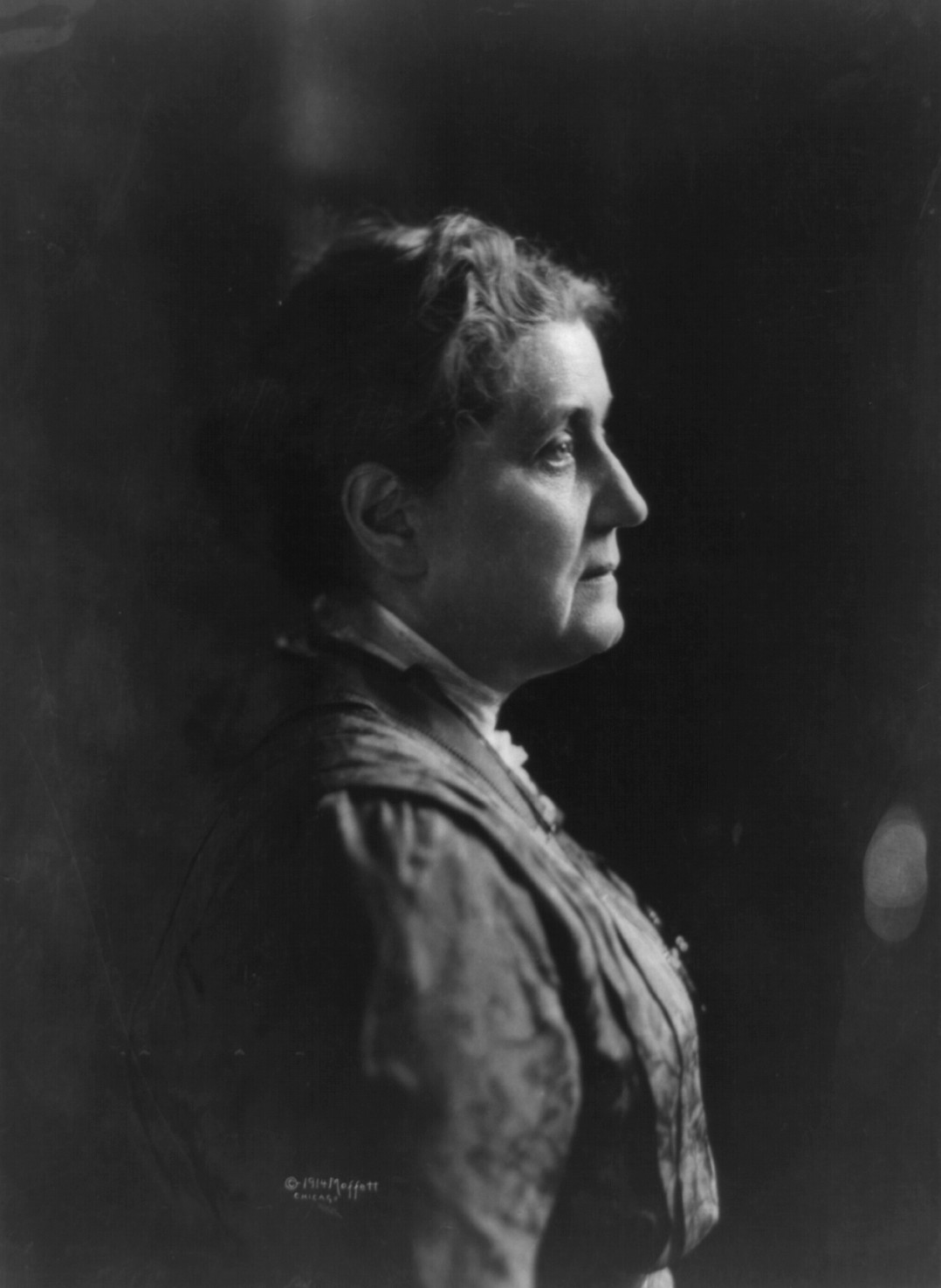 Jane Addams, 1914