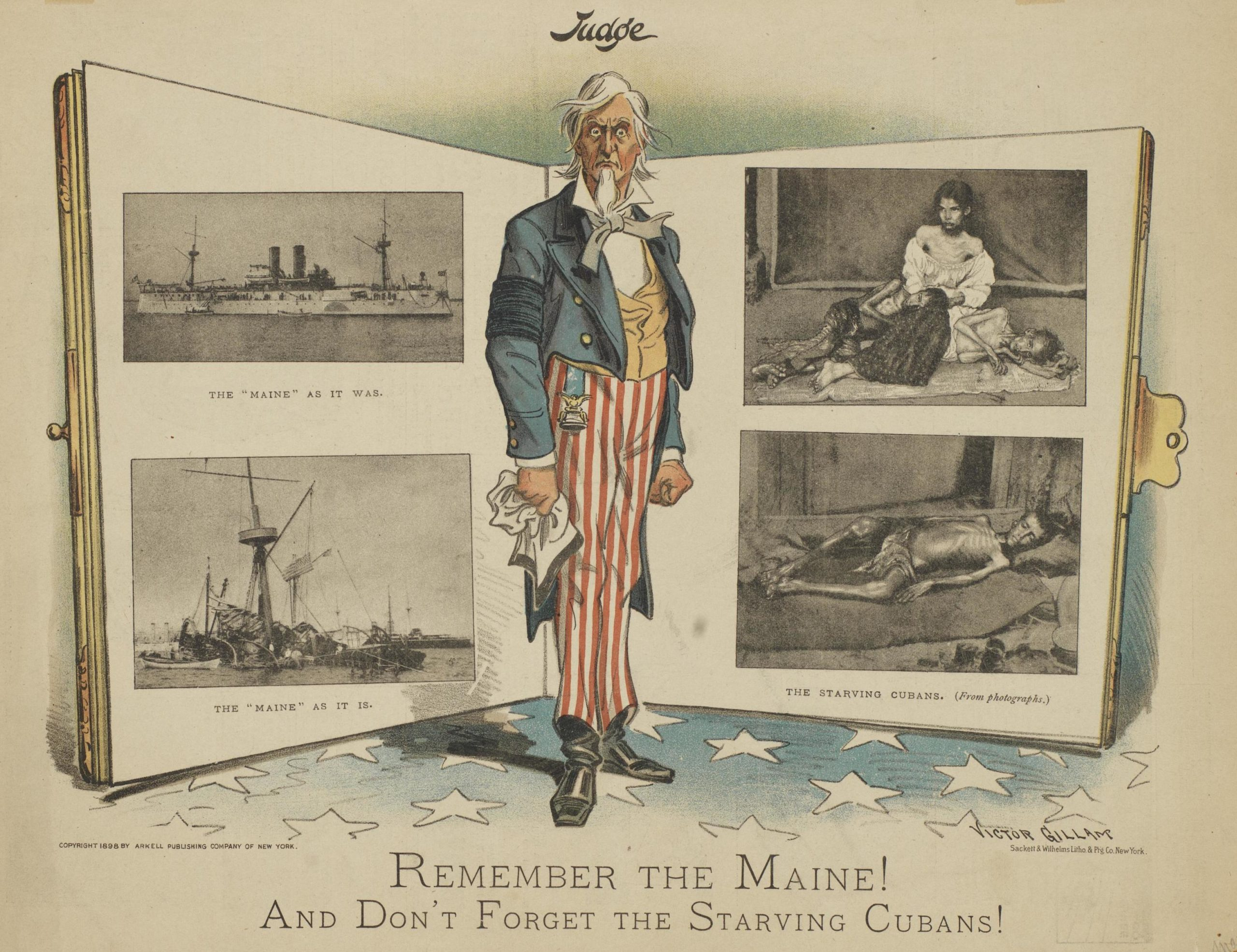 """Remember the Maine! And Don't Forget the Starving Cubans!"""