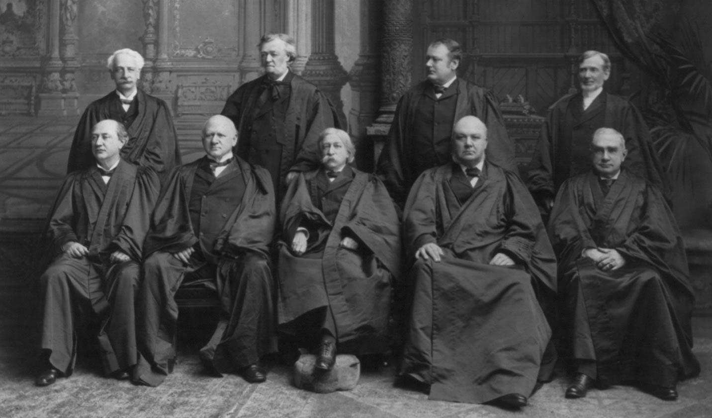 The Fuller Supreme Court, 1899