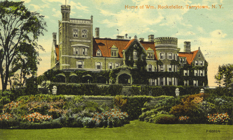 William Rockefeller home in Tarrytown, NY
