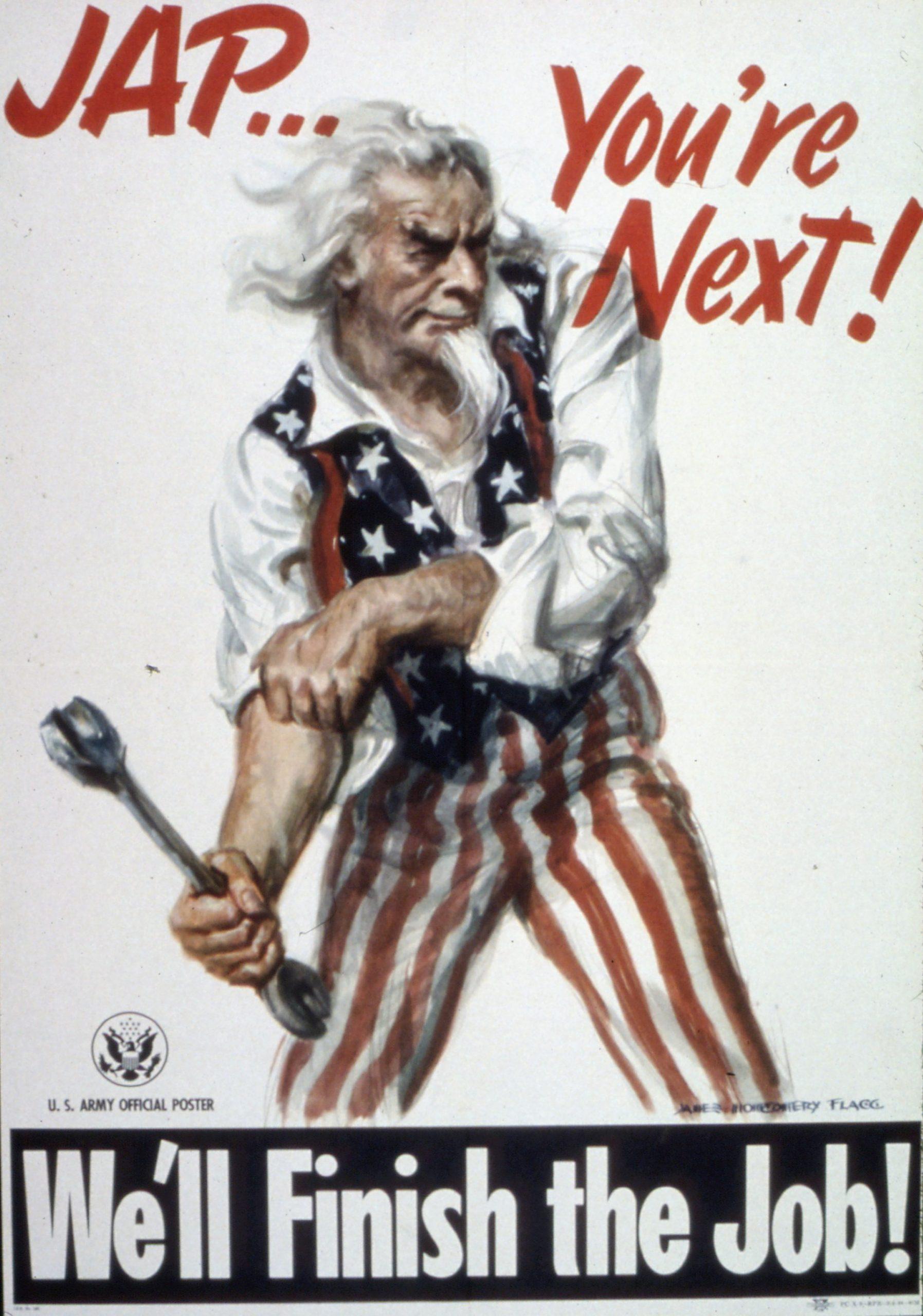U.S. Army propaganda poster