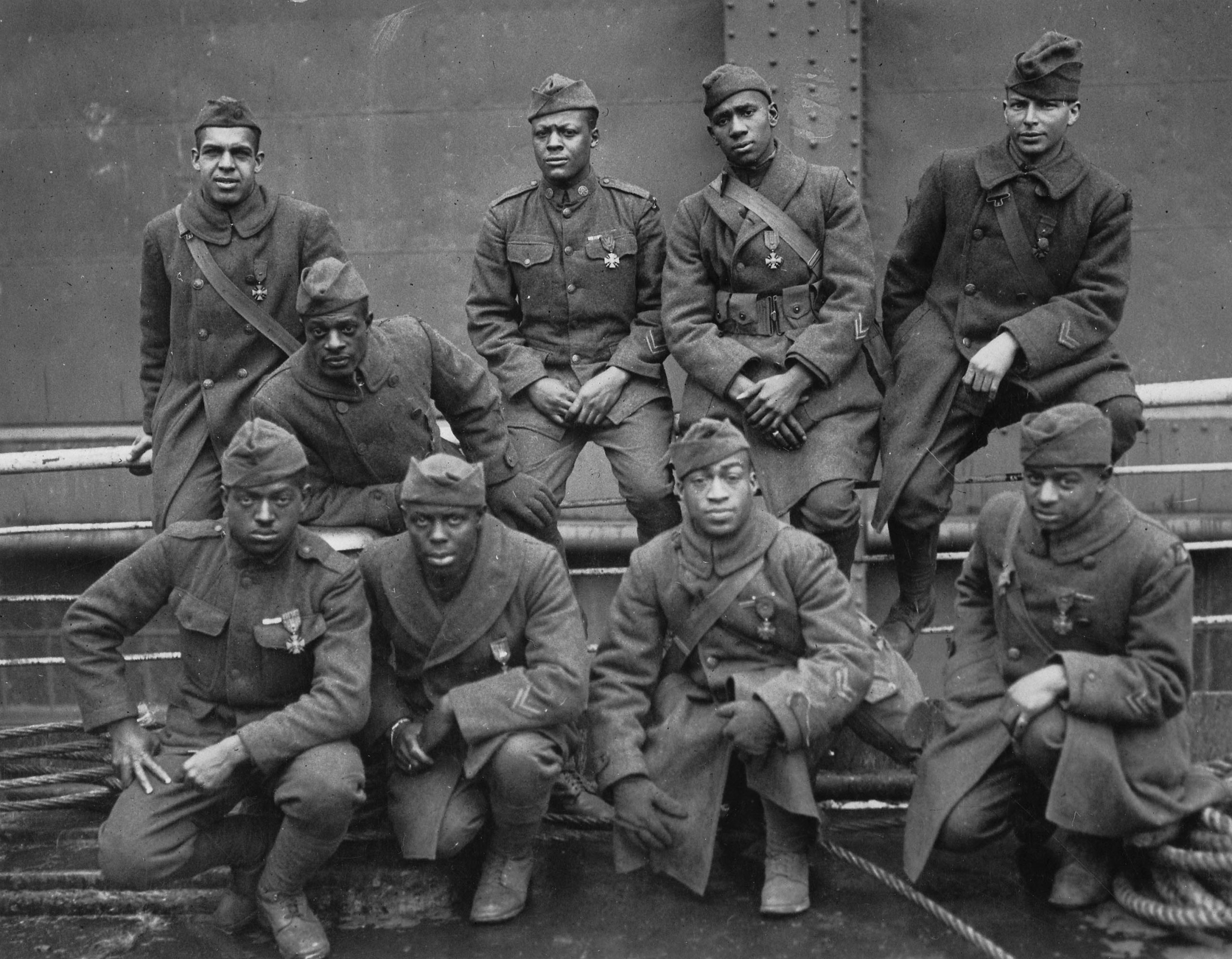 Soldiers of the 369th Infantry Regiment