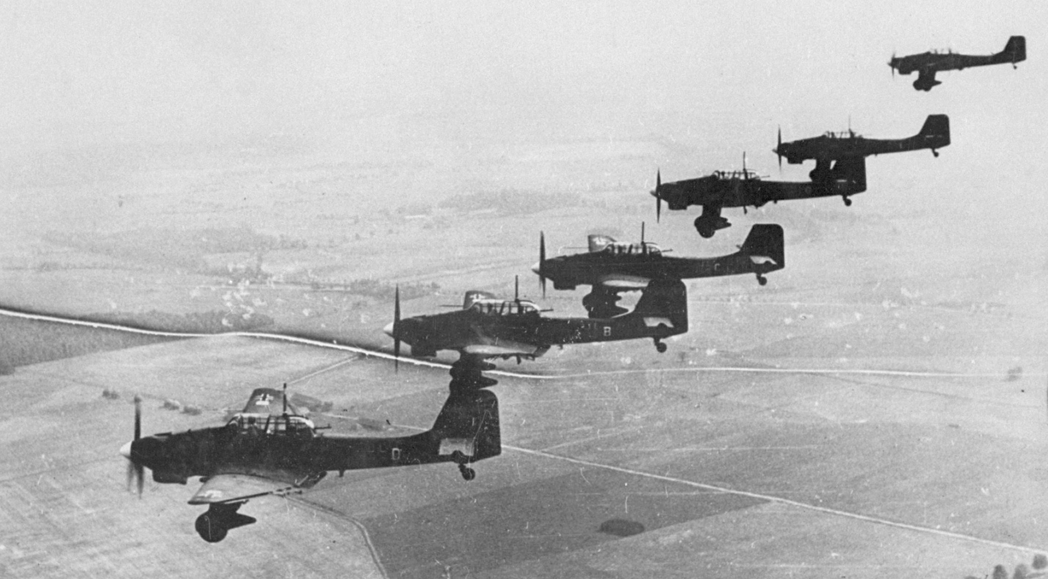 "Stuka"" dive-bombers"