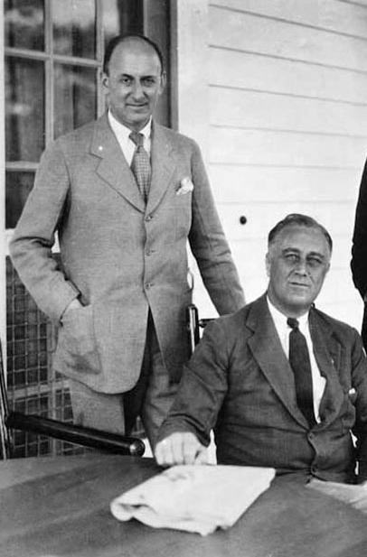 Henry Morgenthau and Franklin D. Roosevelt