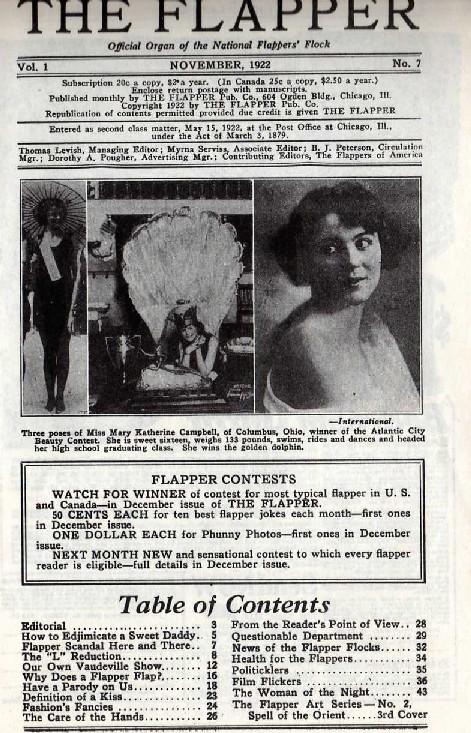 """The Flapper"" magazine"