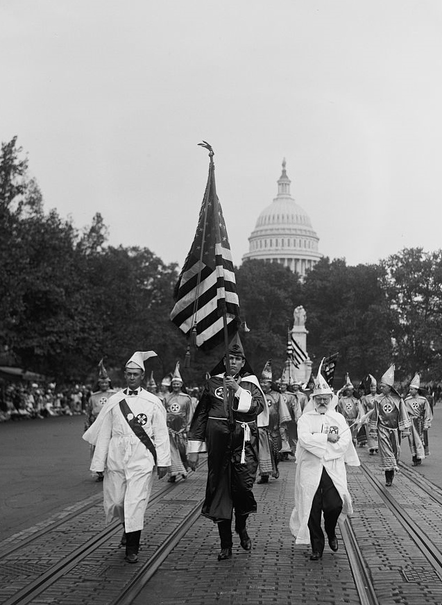 Klan parade