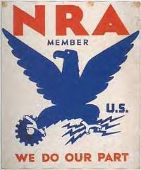 National Recovery Administration Blue Eagle