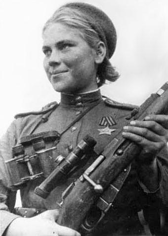 Sniper Roza Shanina